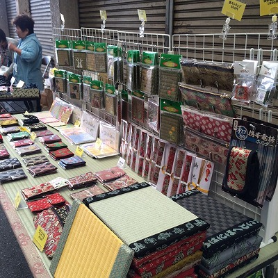 大阪門真市へ大東市の畳屋さんが「アズ夢工房」に出張参加させていただきましたッ!!1