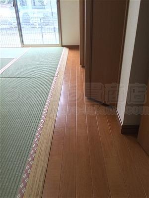 洋間から畳(フローリング畳)へ模様替え:大阪大東市家庭用国産畳専門店いまどきの畳屋さんうえむら畳3