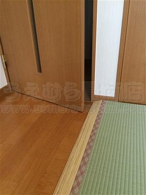 洋間から畳(フローリング畳)へ模様替え:大阪大東市家庭用国産畳専門店いまどきの畳屋さんうえむら畳4