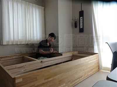 """和室では無いスペースに簡単組立て式茶道教室設置計画…""""こたえ""""(大阪府大東市)家庭用国産畳専門店イマドキの畳屋さんうえむら畳3"""