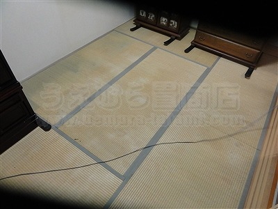 【ペット用畳寝屋川市】ペットの汚れや臭いを低減機能畳施工事例:大阪府大東市イマドキの畳屋さんうえむら畳1