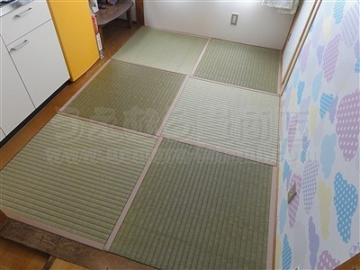 【畳アウトレット】きなり畳シリーズ無添加極太(GOKUBUTO)い草で子育て応援。(大阪大東市)いまどきの畳屋さんうえむら畳1