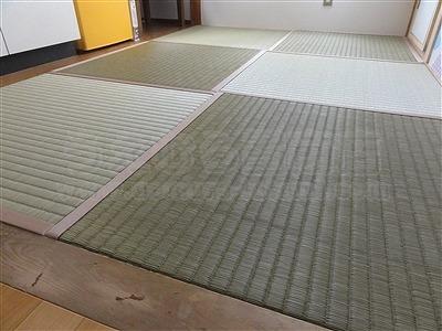 【畳アウトレット】きなり畳シリーズ無添加極太(GOKUBUTO)い草で子育て応援。(大阪大東市)いまどきの畳屋さんうえむら畳2