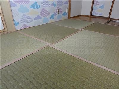 【畳アウトレット】きなり畳シリーズ無添加極太(GOKUBUTO)い草で子育て応援。(大阪大東市)いまどきの畳屋さんうえむら畳5