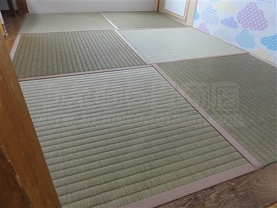 【畳アウトレット】きなり畳シリーズ無添加極太(GOKUBUTO)い草で子育て応援。(大阪大東市)いまどきの畳屋さんうえむら畳6