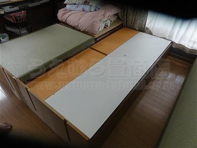 和紙製畳より天然い草畳ベッドでココチヨク眠りたい。(大阪大東市)家庭用国産畳専門店うえむら畳2
