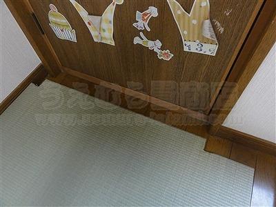 子どもたちは知っているいちばんキモチイイ床を…。縁無し琉球畳大阪家庭用国産畳専門畳店うえむら畳3