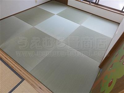 子どもたちは知っているいちばんキモチイイ床を…。縁無し琉球畳大阪家庭用国産畳専門畳店うえむら畳7