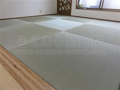 子どもたちは知っているいちばんキモチイイ床を…。縁無し琉球畳大阪家庭用国産畳専門畳店うえむら畳8