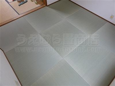 子どもたちは知っているいちばんキモチイイ床を…。縁無し琉球畳大阪家庭用国産畳専門畳店うえむら畳9