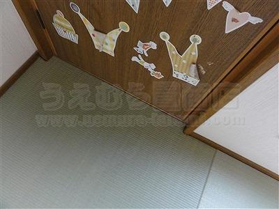 子どもたちは知っているいちばんキモチイイ床を…。縁無し琉球畳大阪家庭用国産畳専門畳店うえむら畳10
