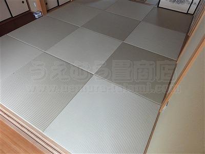 【ペット用縁無し琉球畳】続きのお部屋も害虫が発生しにくいペット対応畳に変更。大阪いまどきの畳屋さんうえむら畳3