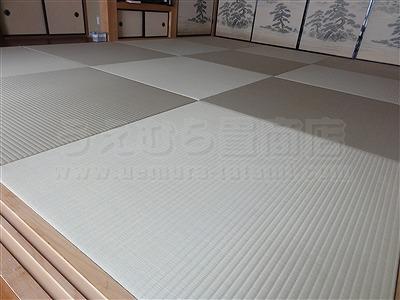 【ペット用縁無し琉球畳】続きのお部屋も害虫が発生しにくいペット対応畳に変更。大阪いまどきの畳屋さんうえむら畳5