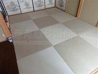 【ペット用縁無し琉球畳】続きのお部屋も害虫が発生しにくいペット対応畳に変更。大阪いまどきの畳屋さんうえむら畳8
