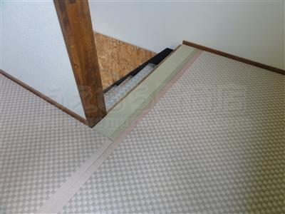 ピーチ×メロン色フロアに模様替えで作業効率アップ作戦。大阪府大東市唯一の家庭用国産畳専門店の畳屋さんうえむら畳6