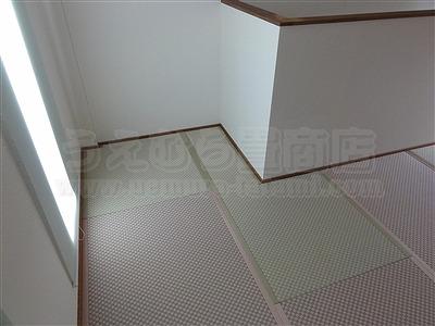ピーチ×メロン色フロアに模様替えで作業効率アップ作戦。大阪府大東市唯一の家庭用国産畳専門店の畳屋さんうえむら畳11