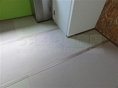 ピーチ×メロン色フロアに模様替えで作業効率アップ作戦。大阪府大東市唯一の家庭用国産畳専門店の畳屋さんうえむら畳12
