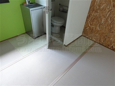 ピーチ×メロン色フロアに模様替えで作業効率アップ作戦。大阪府大東市唯一の家庭用国産畳専門店の畳屋さんうえむら畳15