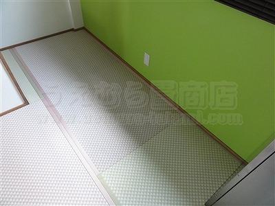 ピーチ×メロン色フロアに模様替えで作業効率アップ作戦。大阪府大東市唯一の家庭用国産畳専門店の畳屋さんうえむら畳16