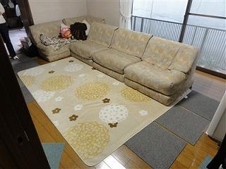 フローリングから畳セキスイ(積水)美草フロア畳置き畳で快適暮らし。大阪大東市家庭用国産畳専門店うえむら畳1