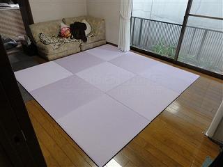 フローリングから畳セキスイ(積水)美草フロア畳置き畳で快適暮らし。大阪大東市家庭用国産畳専門店うえむら畳2