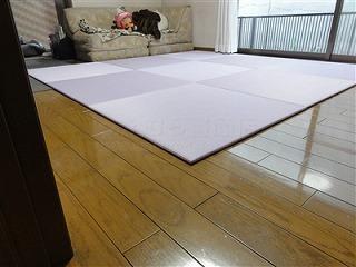 フローリングから畳セキスイ(積水)美草フロア畳置き畳で快適暮らし。大阪大東市家庭用国産畳専門店うえむら畳3