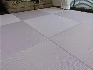 フローリングから畳セキスイ(積水)美草フロア畳置き畳で快適暮らし。大阪大東市家庭用国産畳専門店うえむら畳4