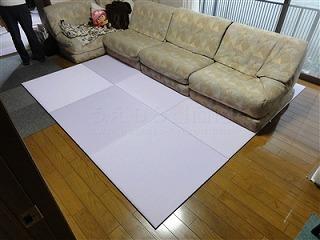 フローリングから畳セキスイ(積水)美草フロア畳置き畳で快適暮らし。大阪大東市家庭用国産畳専門店うえむら畳5