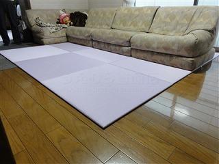 フローリングから畳セキスイ(積水)美草フロア畳置き畳で快適暮らし。大阪大東市家庭用国産畳専門店うえむら畳6