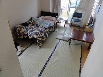 【介護シニア畳ローズフロア】適材適畳で快適暮らし…。大阪大東市家庭用国産畳専門店うえむら畳1