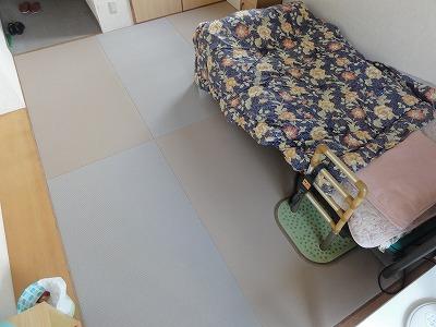 【介護シニア畳ローズフロア】適材適畳で快適暮らし…。大阪大東市家庭用国産畳専門店うえむら畳4