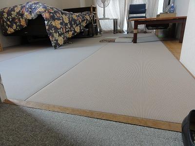 【介護シニア畳ローズフロア】適材適畳で快適暮らし…。大阪大東市家庭用国産畳専門店うえむら畳8