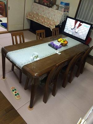 〜冷たいリビングの床をセキスイフロア畳(置き畳)でおしゃれに模様替え〜大阪大東市のイマドキの畳屋さんうえむら畳3