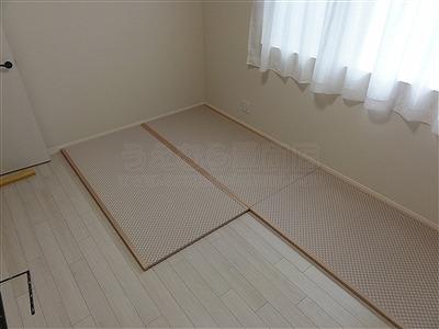 〜減った言われる和室、実はフローリングの上では増えているッ!!〜大阪府大東市家庭用国産畳専門店うえむら畳4