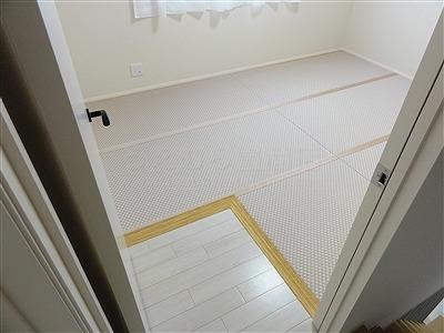 〜減った言われる和室、実はフローリングの上では増えているッ!!〜大阪府大東市家庭用国産畳専門店うえむら畳11