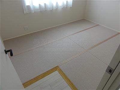 〜減った言われる和室、実はフローリングの上では増えているッ!!〜大阪府大東市家庭用国産畳専門店うえむら畳18