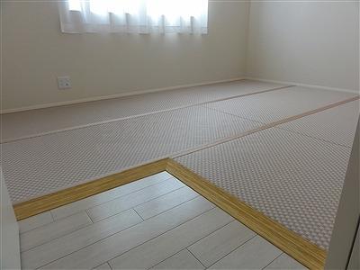 〜減った言われる和室、実はフローリングの上では増えているッ!!〜大阪府大東市家庭用国産畳専門店うえむら畳19