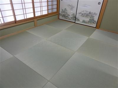 【縁無し琉球畳施工事例大阪府大東市】やっぱりい草がいちばん気持ちがイイ。家庭用国産畳専門店うえむら畳7