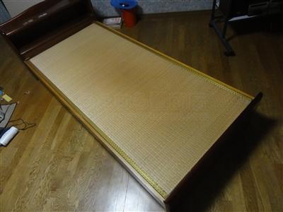 ペットの粗相も安心して眠れるペット用畳ベッド。大阪家庭用国産畳専門店いまどきの畳屋さんうえむら畳1