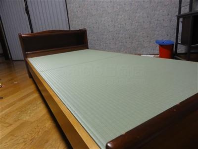 ペットの粗相も安心して眠れるペット用畳ベッド。大阪家庭用国産畳専門店いまどきの畳屋さんうえむら畳4