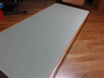 ペットの粗相も安心して眠れるペット用畳ベッド。大阪家庭用国産畳専門店いまどきの畳屋さんうえむら畳5
