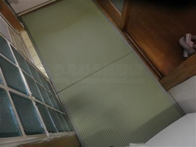 脱衣所床の冷たさ滑りやすさを防水畳で解消ッ!大阪大東市家庭用国産畳専門店イマドキの畳屋さん6
