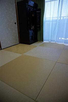 【カラー縁無し琉球畳】お友達のようなステキなお部屋に模様替えしたいッ!:大阪大東市家庭用国産畳専門店うえむら畳4