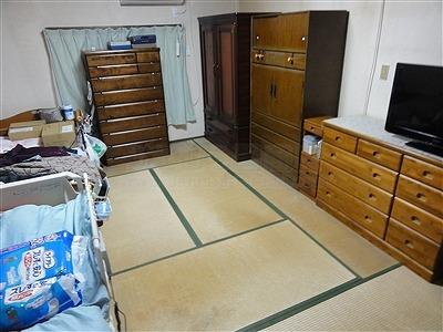 【介護シニア畳】臭いや汚れが気になるご両親のお部屋のお部屋を簡単改善。大阪大東市家庭用国産畳専門店うえむら畳2