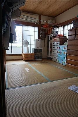 畳デザイン敷き(門真市)ハイハイできる畳へ模様替え:大阪大東市のイマドキの畳屋さんうえむら畳2