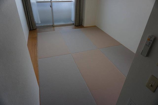 シルバー世代にも安心なTATAMI(畳)へ模様替え:大阪大東市家庭用国産畳専門店イマドキの畳屋さんうえむら畳5