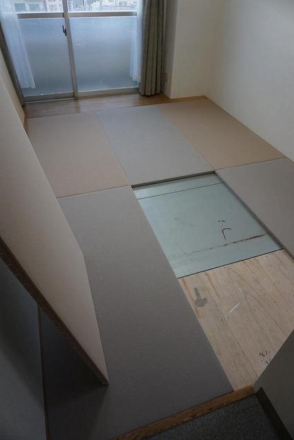シルバー世代にも安心なTATAMI(畳)へ模様替え:大阪大東市家庭用国産畳専門店イマドキの畳屋さんうえむら畳6