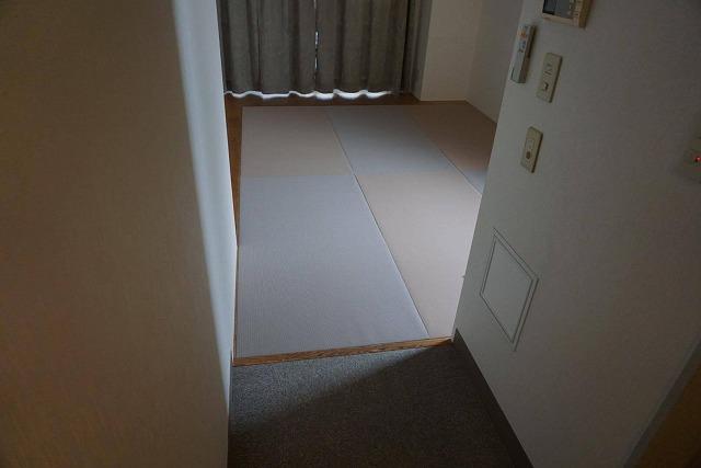 シルバー世代にも安心なTATAMI(畳)へ模様替え:大阪大東市家庭用国産畳専門店イマドキの畳屋さんうえむら畳22