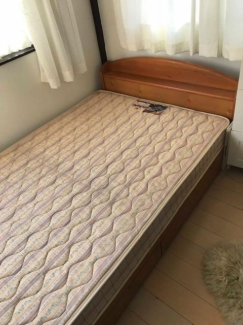 〜ベッドでの目覚めの腰痛を畳でカイゼン〜大阪のイマドキの畳屋さんうえむら畳1