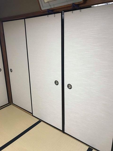 ふすま(襖)の張替え新調もお任せ。(大阪府大東市)家庭用国産畳専門店うえむら畳2
